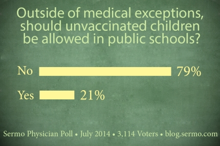 schools and vaccines, doctors and vaccines