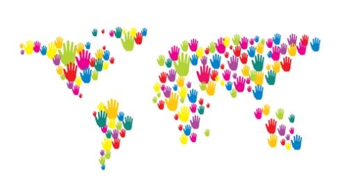 hands world